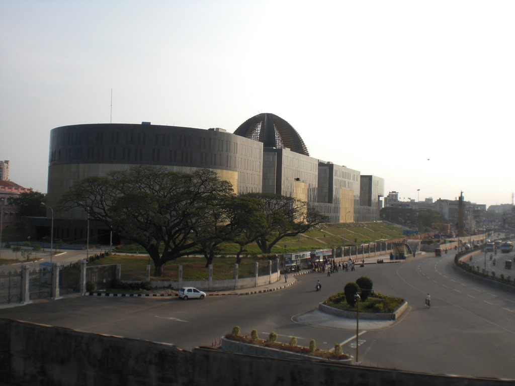 What is the most unique looking building in your city? : india