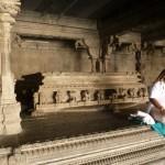 Monk in Jalagandeswara Temple