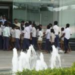 School Children Visited Library