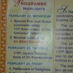 Religious Programme