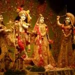 Lord Sri Krishna and Radha Devi