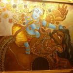 Lord Srikrishna Killing Rakshasa