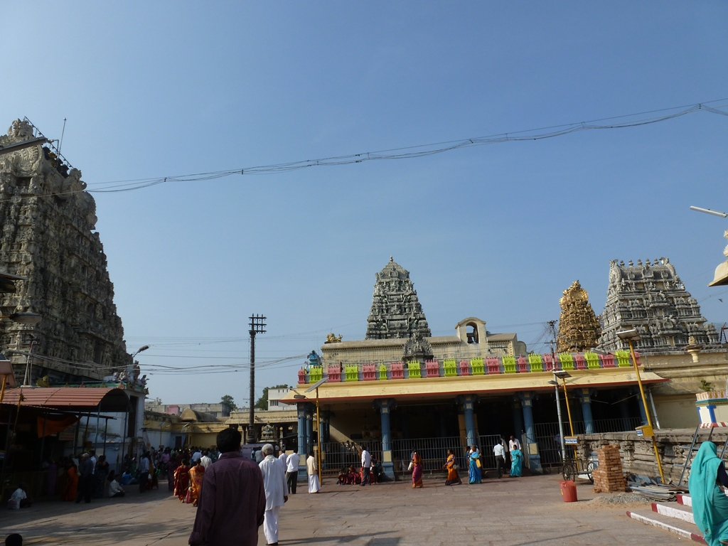 You Can See 4 Temple Towers Now.Left One Is The Main Entrance