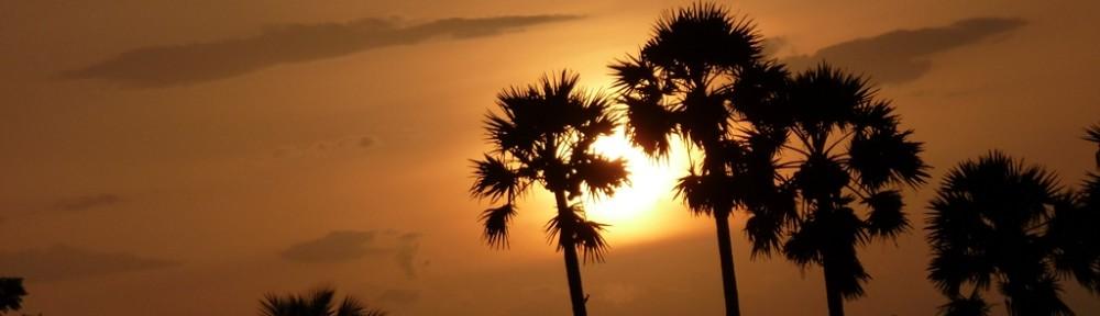 Sunset Near Gummadipoondi.
